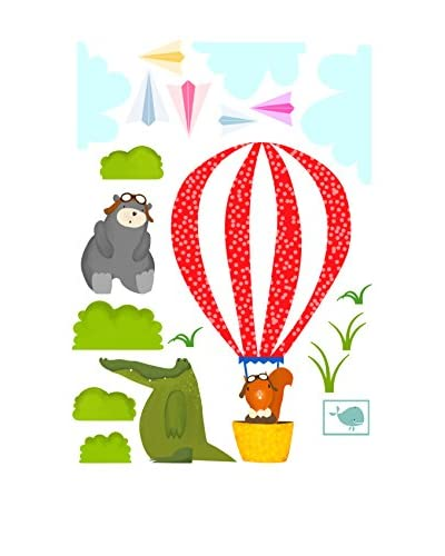 Baleno Vinilo Decorativo Balloon Ride Wall