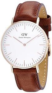 Daniel Wellington Women's 0507DW Classic St. Mawes Analog Display Quartz Brown Watch