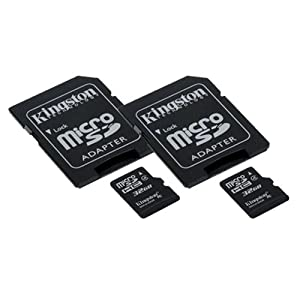GoPro HERO3 Plus Camcorder Memory Card 2 x 32GB microSDHC Memory Card with SD Adapter (2 Pack)