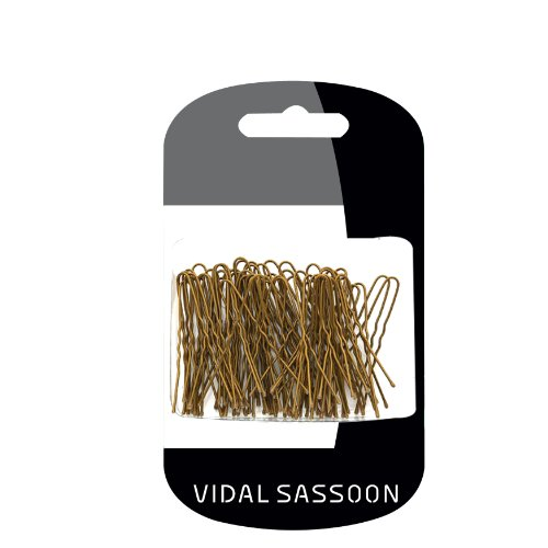 Vidal Sassoon Hair Pins, Brown, 100 Count