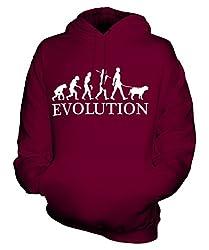 Bullmastiff Evolution of Man - Unisex Hoodie - Mens/Womens/Ladies