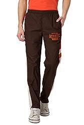 Ajile by Pantaloons Men's Shorts (301177773_Dark Brown_Large)