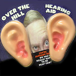 Over The Hill - Hearing Aid Big Ears Gag Gift by Magique