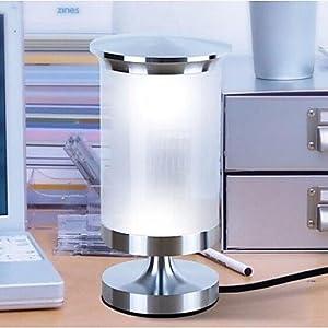 ES Cilíndricos 3w de mesa llevado lámparas de escritorio de mini bar luces de mesa de acrílico lámpara de noche