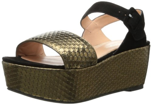 Bronze Wedge Sandals front-1026529