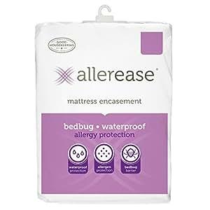 Amazon Aller Ease Mattress Protector Cover White