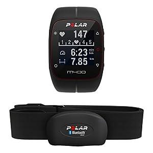 Polar M400 Montre Cardio/GPS Multisport avec Ceinture Cardiaque Noir