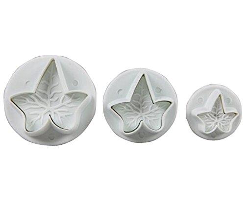 KingWinX de repostería en forma de émbolo, juego de 3 piezas de arce