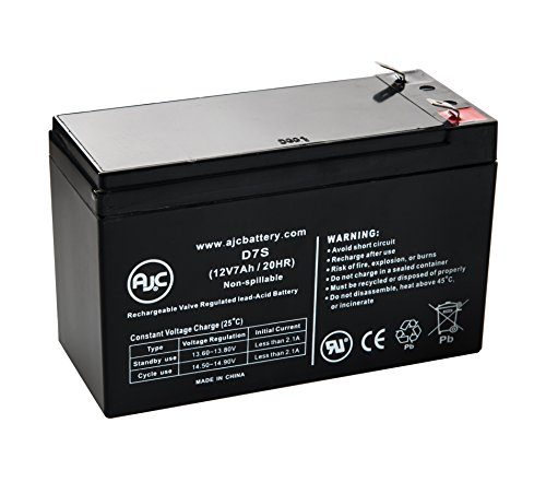 Minuteman PRO700E 12V 7Ah UPS Battery – This is an AJC Brand® Replacement