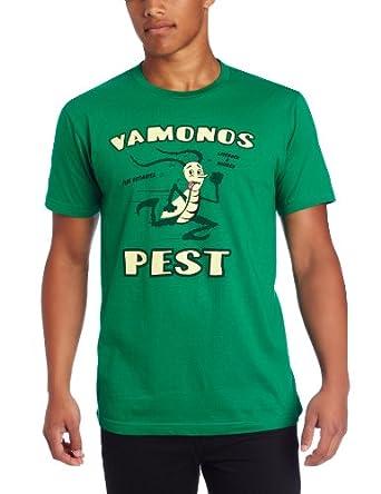 Breaking Bad Men's Vamanos Pest, Green, Small