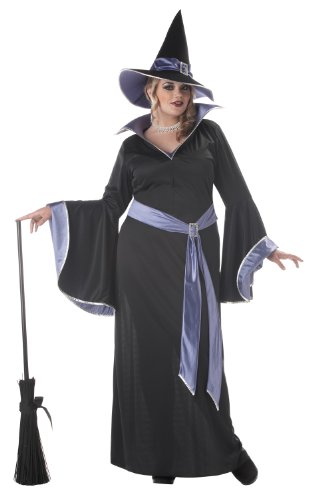 California Costumes Women's Plus Size-Incantasia - Glamour Witch Costume