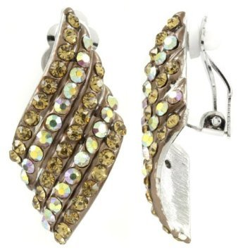 Beatrices Vintage Clip Ons - Gold