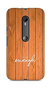 AMEZ you are enough Back Cover For Motorola Moto Turbo