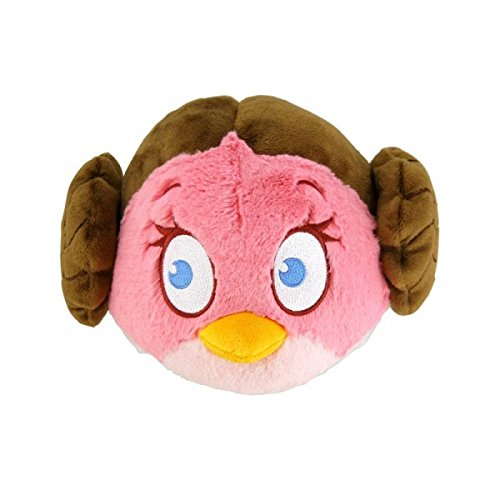 Commonwhealth - Peluche Angry Birds Star Wars - Princess Leia 20cm - 0022266932376