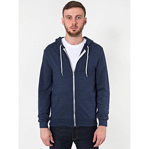 american-apparel-unisex-tri-blend-hoodie-kapuzenjacke-xl-tri-marineblau