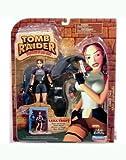 Lara Croft Action Figure Faces the Deadly Great White! - Tomb Raider: Adventures of Lara Croft Deep Sea Adventure Playset