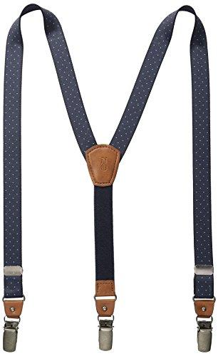 Nautica Big Boys Dot Suspender, Navy, One Size