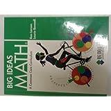 BIG IDEAS MATH: Common Core Student Edition Green 2012