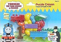 Thomas Puzzle Crayons