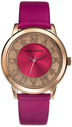 mark-maddox-womens-quartz-watch-with-pink-dial-analogue-display-and-pink-pu-strap-mc0005-70