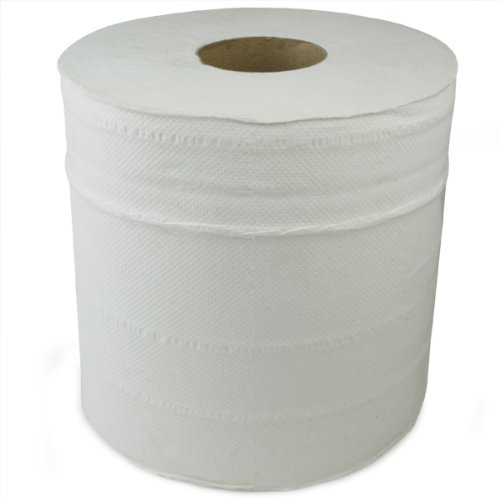 Centre Feed Rolls White - Pack of 6 | Paper Towel, Hand Towel