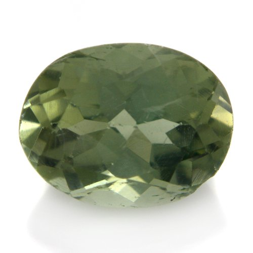 Natural Green Apatite Loose Gemstone Oval Cut 10*8mm 3.10cts VS Grade