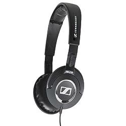 Sennheiser HD 218 Closed back On-Ear Stereo Headphone (Black)