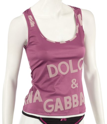Dolce  &  Gabbana Underwear Top Micro Pink - Medium