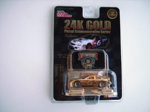 #6 Diecast Car 24k Gold Plated Commemorative Series (Nascar)