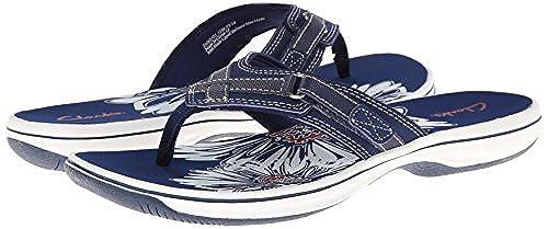 08. Clarks Women's Breeze Sea Flip-Flop