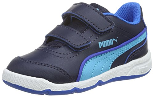 pumastepfleex-fs-sl-v-zapatillas-ninos-ninas-color-azul-talla-24-eu