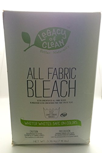Legacy of Clean Concentrated All Fabric Bleach 7.41lbs (112+ Loads)