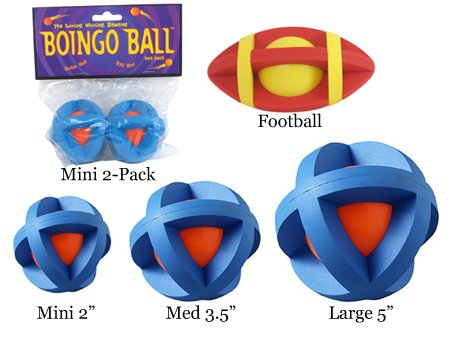 MultiPet MU55553 Boingo Ball For Cats – Mini