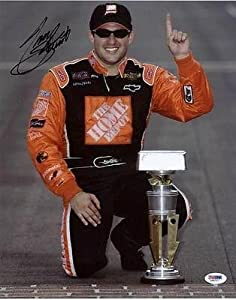 Autographed Tony Stewart Photo - 11x14 #l66727 - PSA DNA Certified - Autographed... by Sports Memorabilia