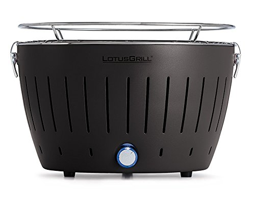 LotusGrill G-AN-34 - Barbecue a carbone senza fumo, colore nero