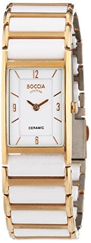 Boccia Ladies'Watch XS Analogue Quartz 3212-03 Ceramic