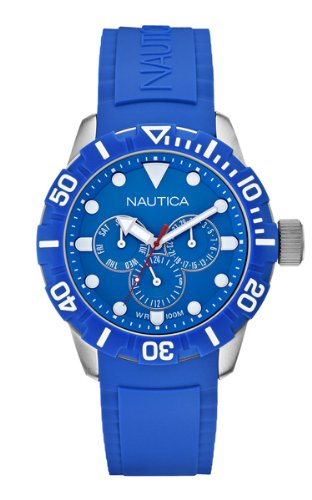 Nautica Orologio Multifunzione Blu