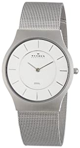 Skagen Men's 233LSS Mesh Bracelet Watch