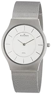 Skagen 233LSS Gents Watch with Stainless Steel Bracelet