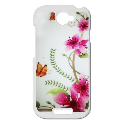 Generic Cell Phone Cases Cover For Htc One S Case Fashionable Art Designed With Beautiful Butterfly - K Personalized Shell front-878425
