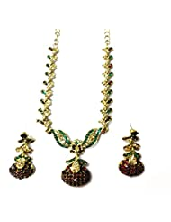 Sneh Heavy Stone Studded Necklace Set For Women