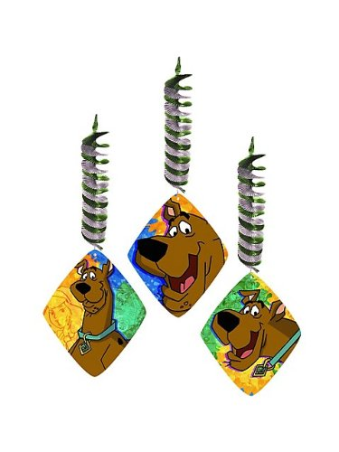 Scooby Doo Mystery Dangler - 3/Pkg.