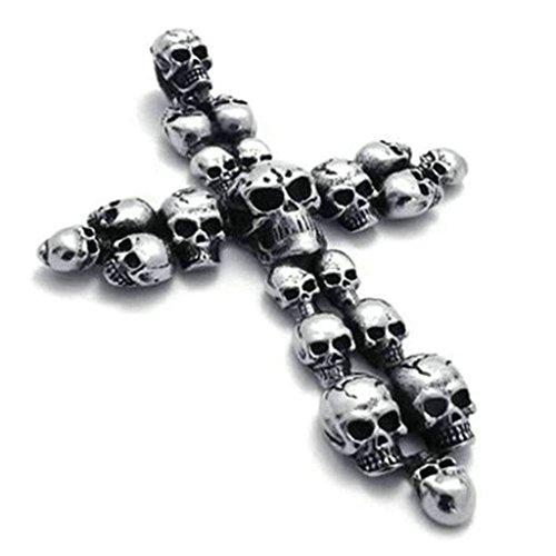 daesar-stainless-steel-necklaces-men-women-skull-necklace-cross-pendant-neckalces-black-silver-8259m