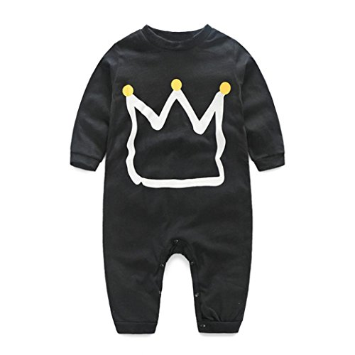 FEITONG Newborn Infant Baby Boy's Print Romper Jumpsuit Bodysuit Clothes Outfits (24 Months)