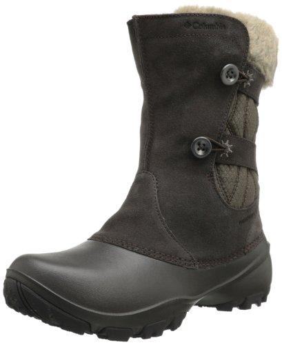 Columbia Women's Sierra Summette III Slip Winter Boot,Cordovan/Mud,12 M US