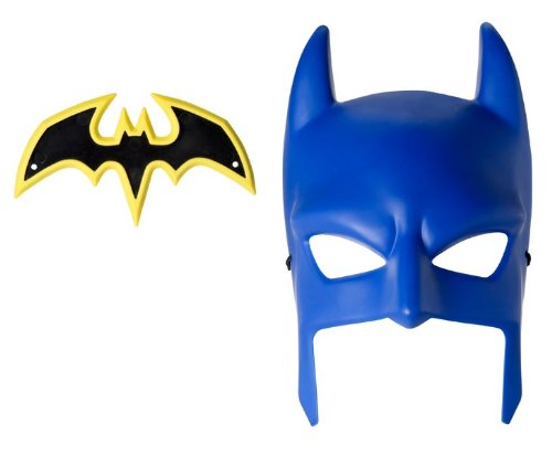 Batman Cowl and Batarang Role Playset (Blue Batman Cowl compare prices)