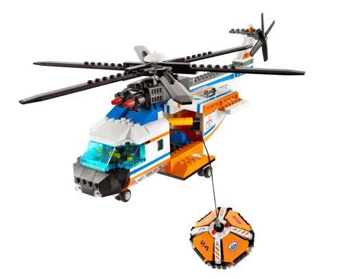 Imagen de LEGO City Helicóptero de la Guardia Costera y balsas salvavidas