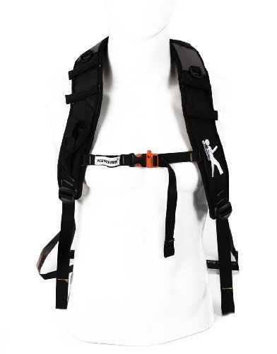 piggyback-rider-nomis-deluxe-standing-child-carrier-system-with-1l-hydrapak-bladder-and-carry-bag-bl