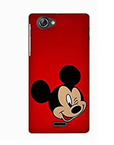 PickPattern Back Cover for Sony Xperia T2 Ultra