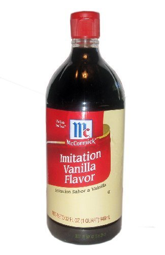 McCormick Imitation Vanilla Flavor, 32 Ounce by K2 Valley Inc [Foods] temptations creamy dairy flavor treats for cats 16 ounce
